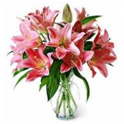8 Lilies Vase