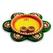Floral Pooja Thali