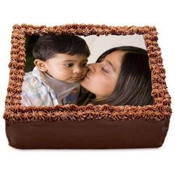 Chocolate Photo Cake for...