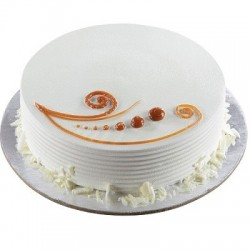 Vanilla Eggless Cake (Oven Fresh)