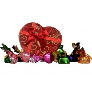 10 Assorted Chocolates Of Different Delicacies.