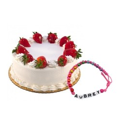 Strawberry Cake with...
