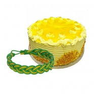 Pineapple Cake with Friendship Band