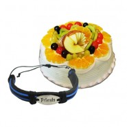 Mix Fruit cake with Friendship Band