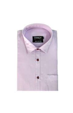 Pink Linen Full Shirt