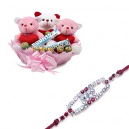 Red Diamond, Ad Diamond Rakhi With All About Love