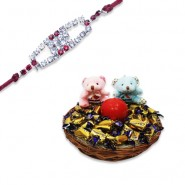 Red Diamond, Ad Diamond Rakhi With Feel Good With Love