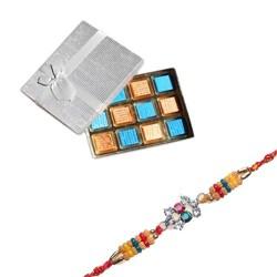 Pearls, Diamond Beads Rakhi...