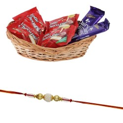 Rakhi Chocolate Basket