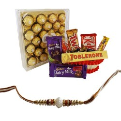 Rakhi Chocolates Hamper