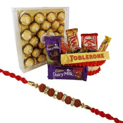 Chocolate hamper with...