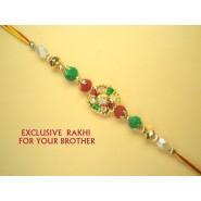 Colourful Beads Rakhi