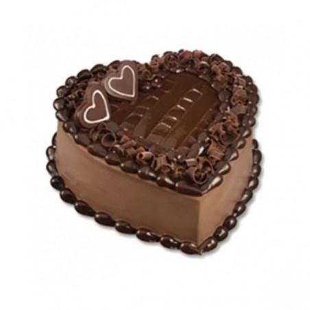 Heart Shape Eggless Cake - 1kg