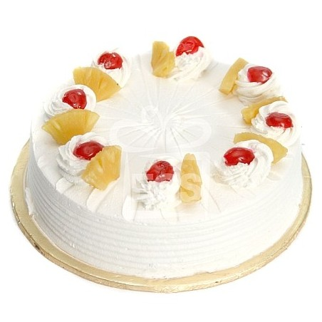 Pineapple Eggless Cake - 1kg