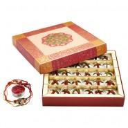 Ghasitaram Rakhi Special Dryfruit Anarkali Mithai Box