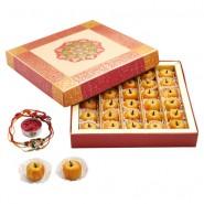 Ghasitaram Rakhi Special Dryfruit Apple Mithai Box