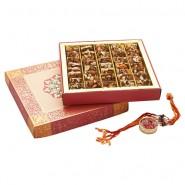 Ghasitaram Rakhi Special Sugarfree Dryfruit Nut Khut Mithai Box
