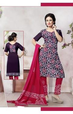 Multi Color Cotton Salwar