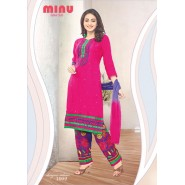 Pink Cotton Salwar