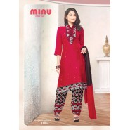 Red Cotton Salwar