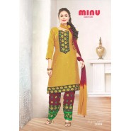 Gold Cotton Salwar