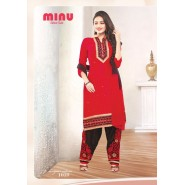 Red Cotton Salwar