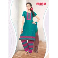 Green Cotton Salwar