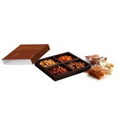4 COMPARTMENT DRY FRUIT BOX