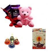 Diwali Chocolate With Teddy