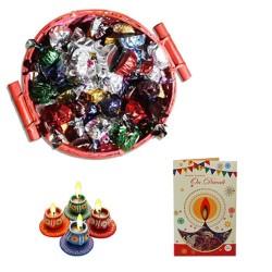 Diwali Basket Of Wishes