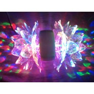 DOUBLE SIDE LOTUS DISCO ROTATING LIGHT