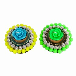Trendy Set of Floating Diyas