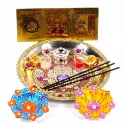 Diwali Thali and Earthen...