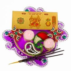 Acrylic Diwali Thali with...