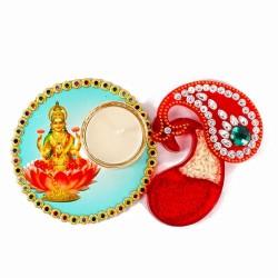 Goddess Lakshmi Colorful...