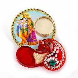 Radha Krishna Colorful...