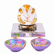 Daffodil Lord Ganesha Idol