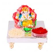 Floral Lord Ganesha Idol