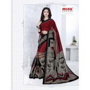 cotton printed saree