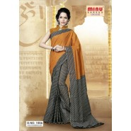 Grey & YellowCotton PrintedSarees