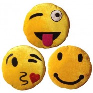Chunmun Smile Pillow with 3 Expressions(Pack of 3)