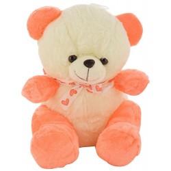 Carrot Colour Teddy Nick...