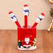 Santa Pen Set Christmas Gift^soft toys^christmas softoys^xmas softtoys^christmas^xmas
