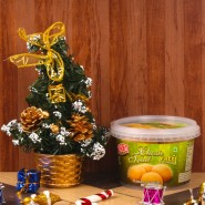Christmas Tree with Nankhatai Cookies