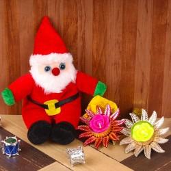 Christmas Santa Soft Toy...
