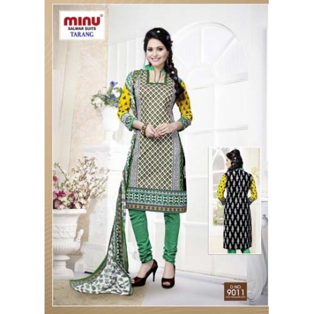 Multi -Color Printed Cotton Salwar