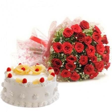 Valentine Dessert For Pineapple Lovers