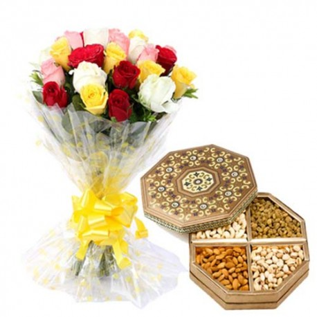 Valentine Dryfruit Gift For Her