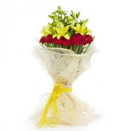 Bouquet of Exotic Flowers
