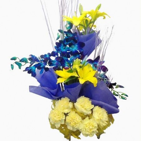 Fifteen Mix Exotic Flowers for Love